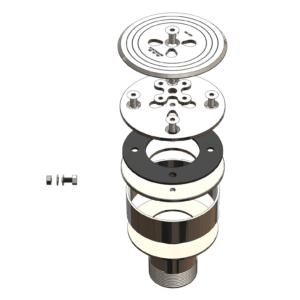 Форсунка донная комбинированная с корпусом, 1,5″, пленка